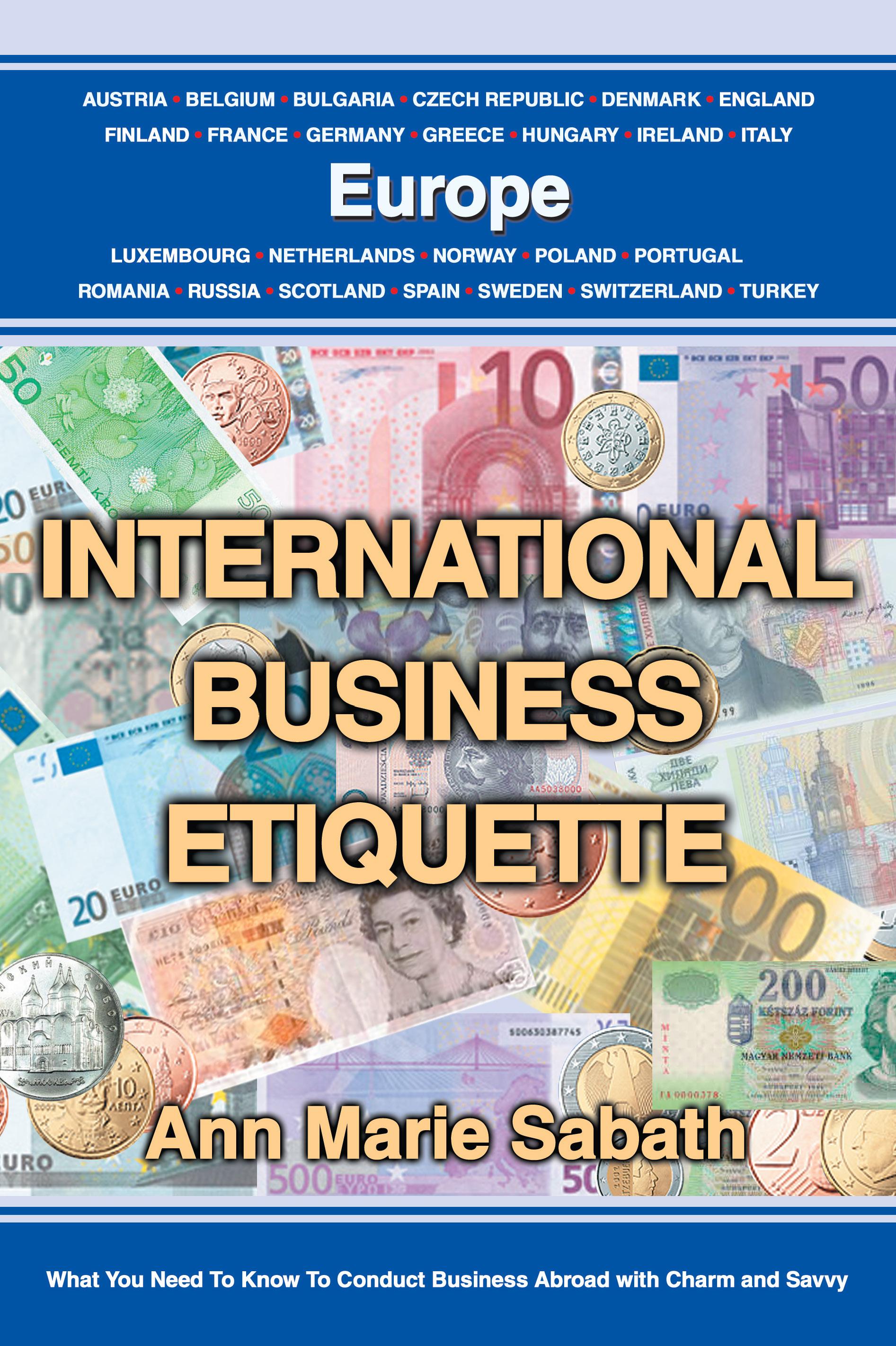 International business etiquette europe ann marie sabath reheart Image collections